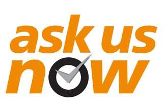 AskUsNow! logo