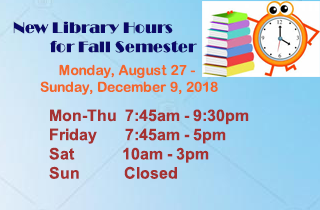 new library hours